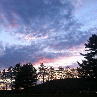 The sky is prettier in the Pocono's. Skytop Skytoplodge Poconos