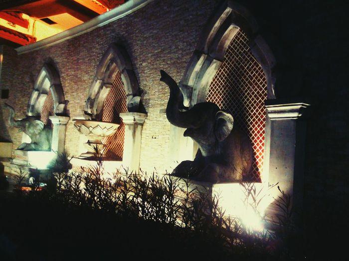 Ancient Unique Charm Asian Culture Architectural Feature Deevana Patong Resort Phuket,Thailand
