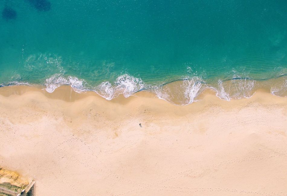 Picture taken with a DJI Phantom 3 in Guidel, France Sand Beach Sea Nature Day Water Beauty In Nature Outdoors No People Sand Dune First Eyeem Photo Fresh On Market 2017