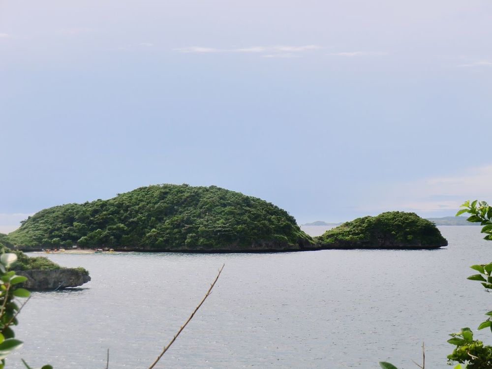 Turtle Island HundredIslandPhilippines Landscape Outdoors Beauty In Nature Sky Sea