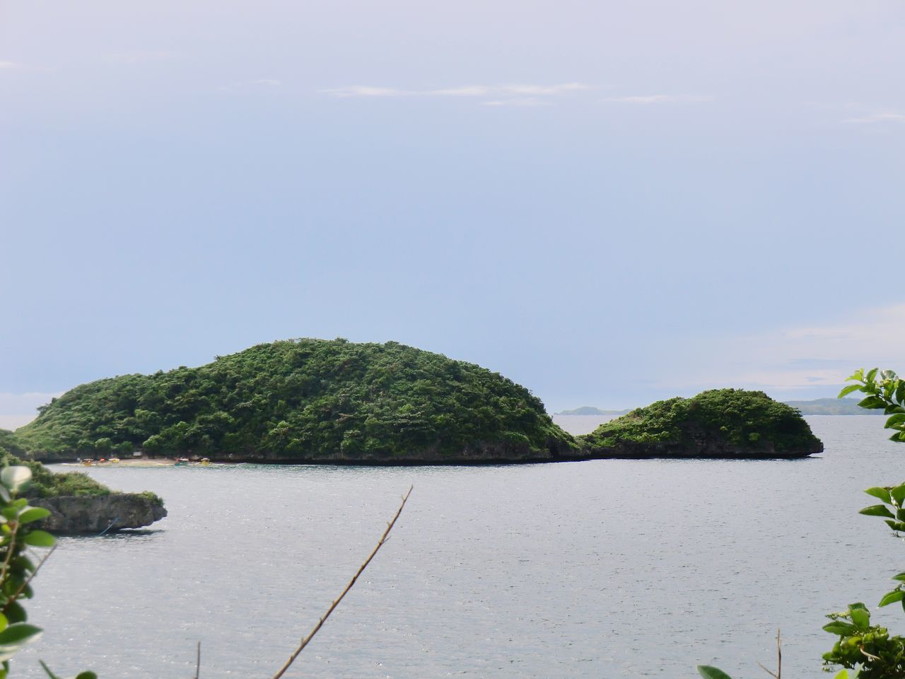 Turtle Island HundredIslandPhilippines Landscape Outdoors Beauty In Nature Sky Sea