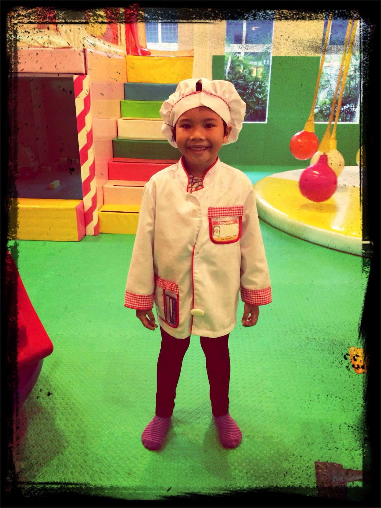 I'm a chef!