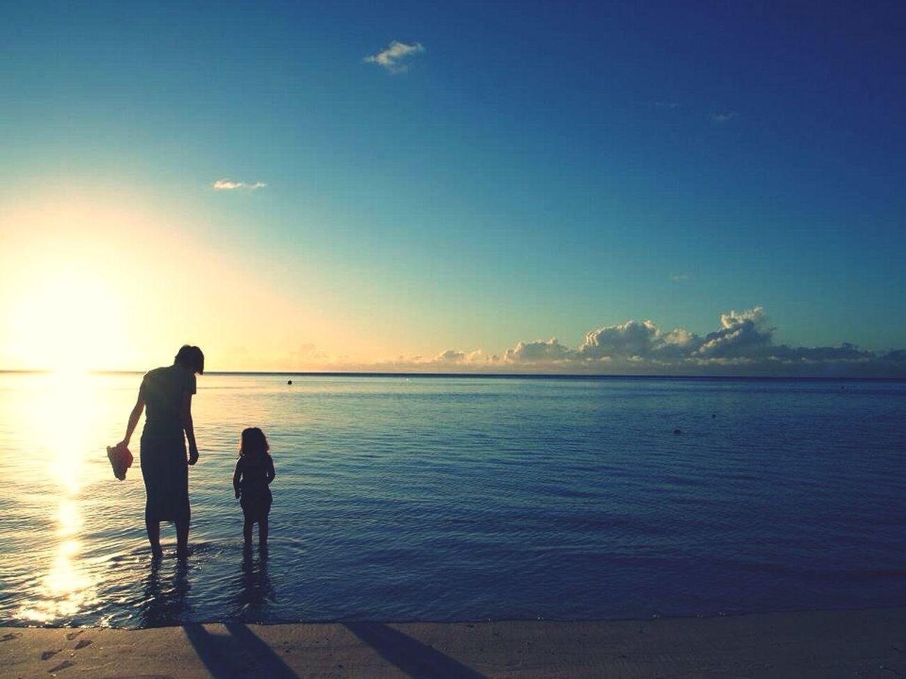 Beach Traveling In Guam Landscape