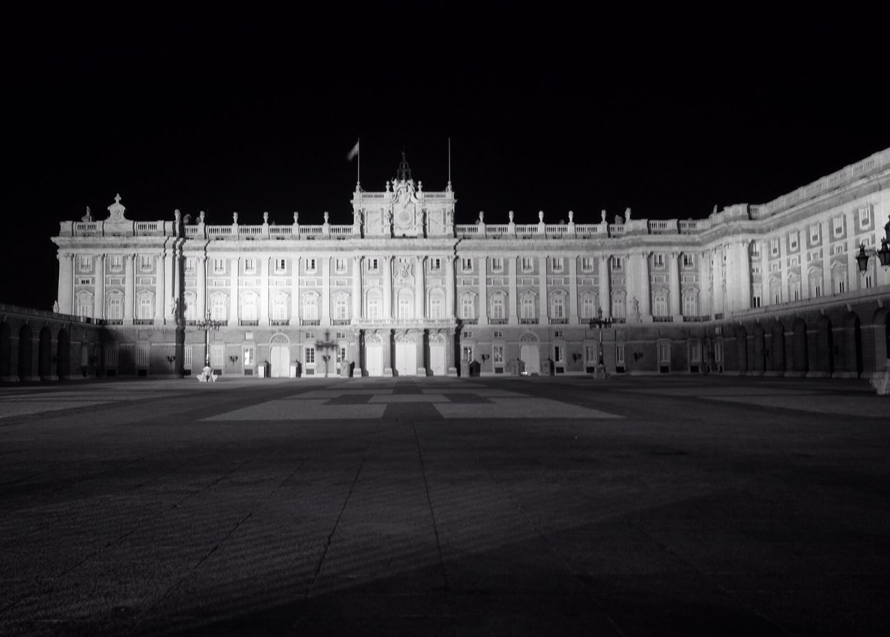 Madrid Architecture Night SPAIN Madrid Royal Palace history