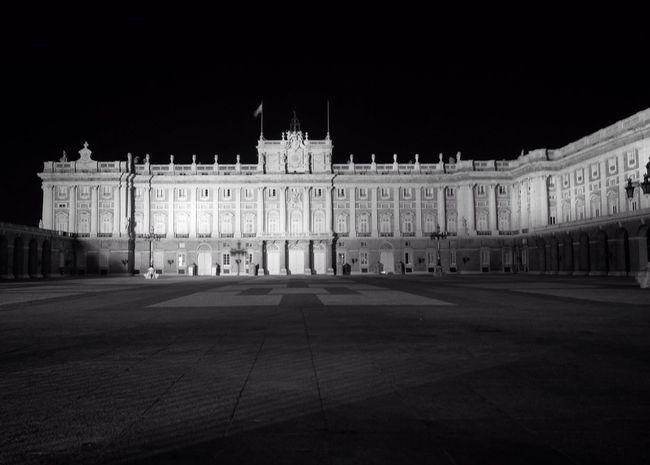 Madrid Architecture Night SPAIN Madrid Royal Palace history