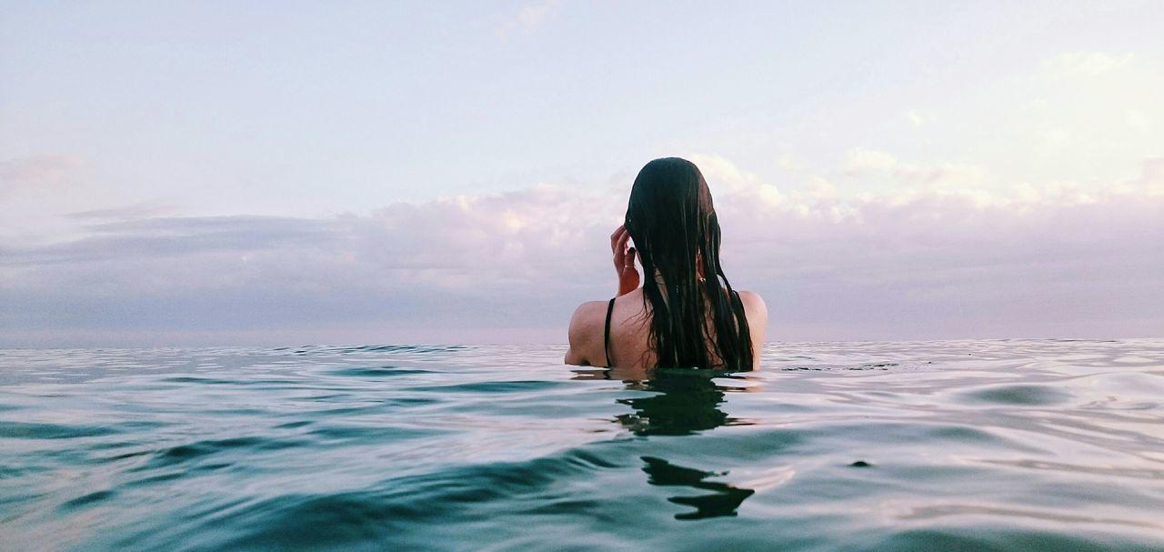 Beautiful stock photos of bikini, Beauty In Nature, Day, Horizon Over Water, Idyllic