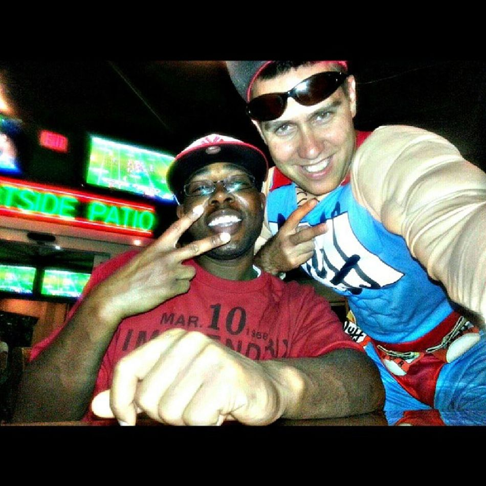 At Duffys with my homie duff Man!! @bigrob420 zooted! LOL Highlife Jetlife Potheadsociety zooted pothead stoner barhoping