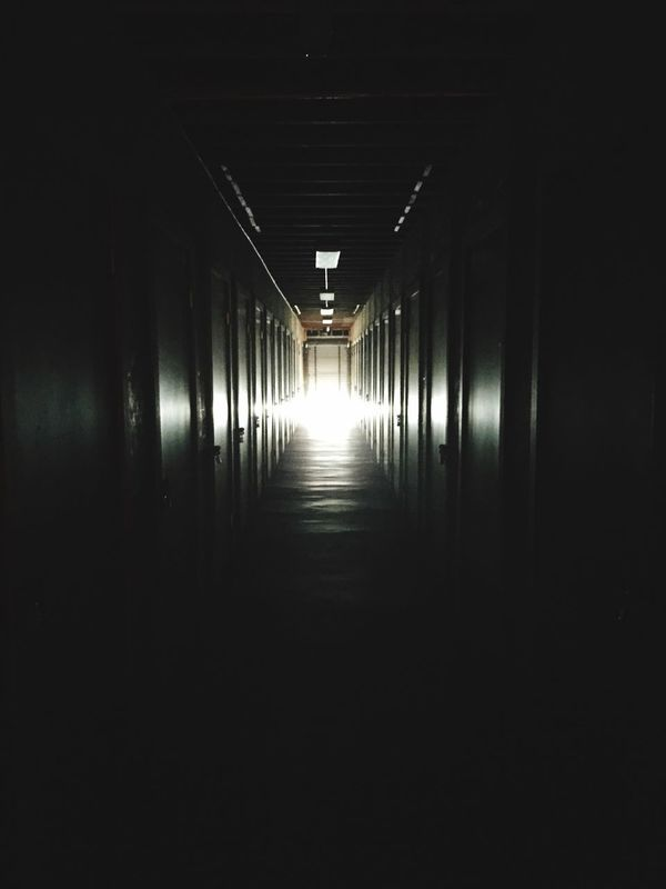 There's a light at the end of the tunnel. Keepgoingstrong