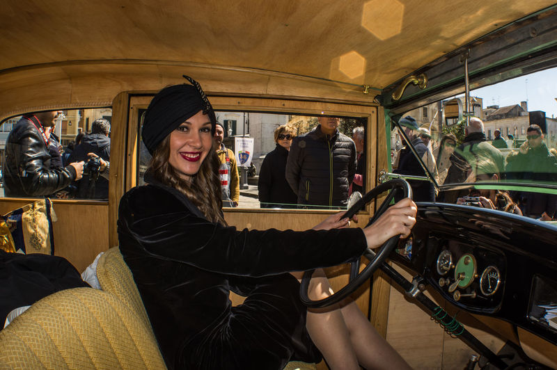 Anni 20 Auto Balilla Beautiful Girl Belle Epoque Car Collezione Dolce Vita Epoca MeinAutomoment Old Car