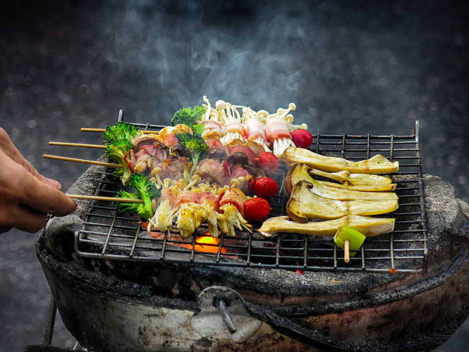 Beautiful stock photos of straße, Barbecue, Barbecue Grill, Burning, Cooking