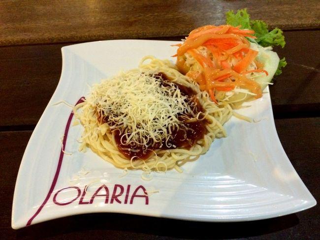 Solaria Foodporn Food Spaghetti Bolognese