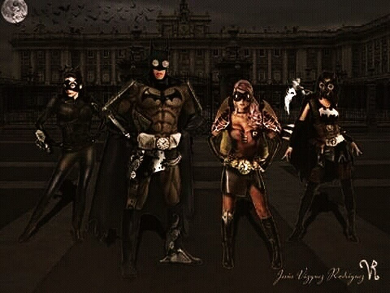Batman Batman ❤ Catwoman Robin Batgirl Steampunk Art, Drawing, Creativity ArtWork Art Artist Artistic Ilustracion Illustration Illustrator Illustrations  Ilustration Ilustrator Ilustraciones