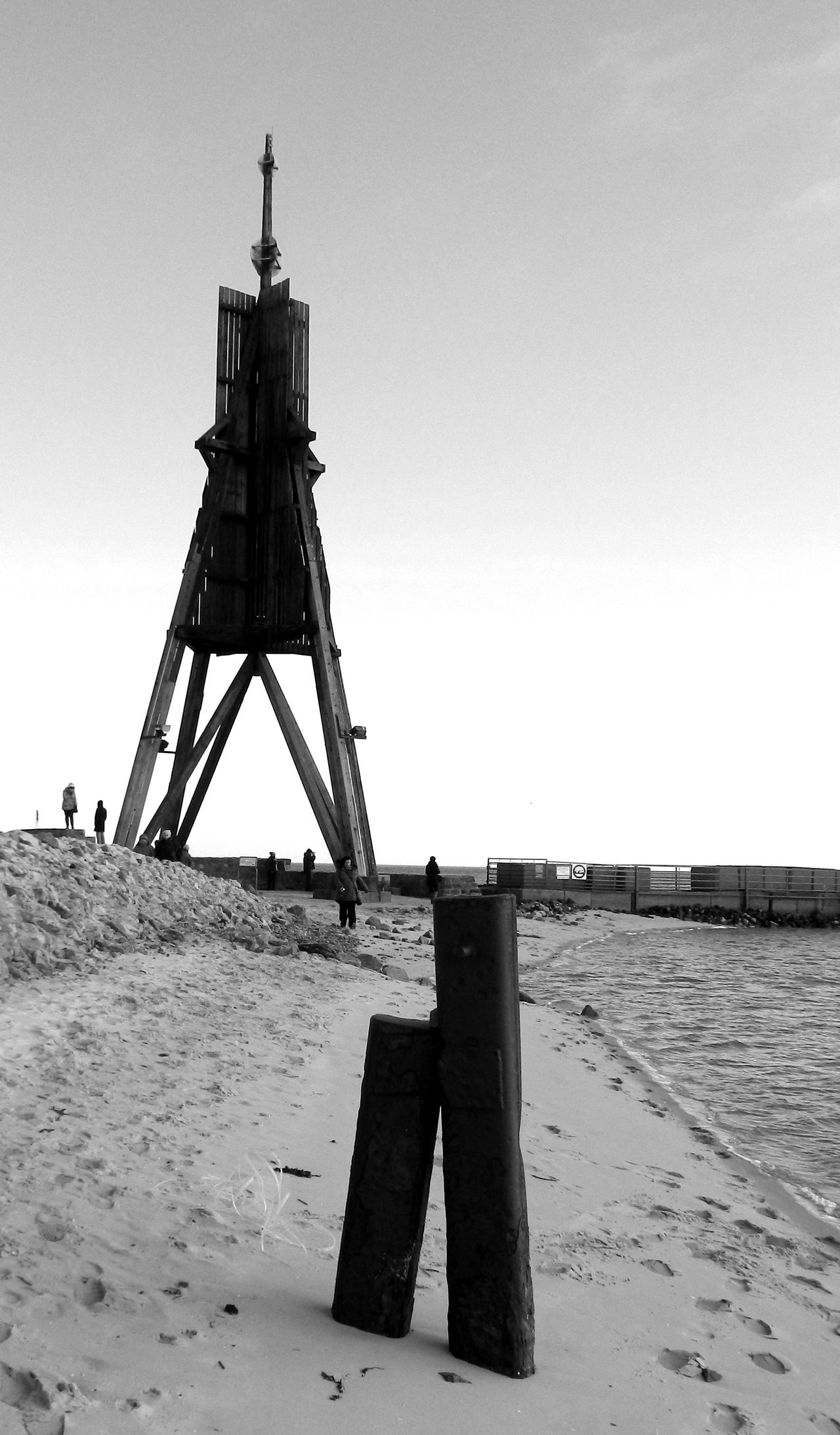Kugelbake Cuxhaven Cuxhaven North See Cuxha8en Black And White Blackandwhite Schwarzweiß Schwarz & Weiß BLCK&WHT Black & White Blackandwhite Photography The KIOMI Collection Exceptional Photographs