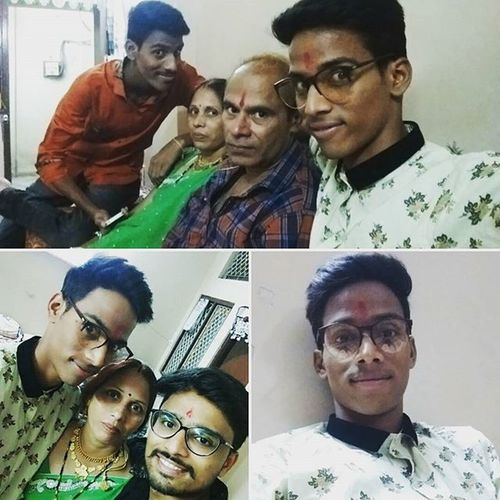 Celebrating_diwali Homesweethome Brothers LittleBrothers Elderbrother Mom Dad Lovelyfamilytime💕
