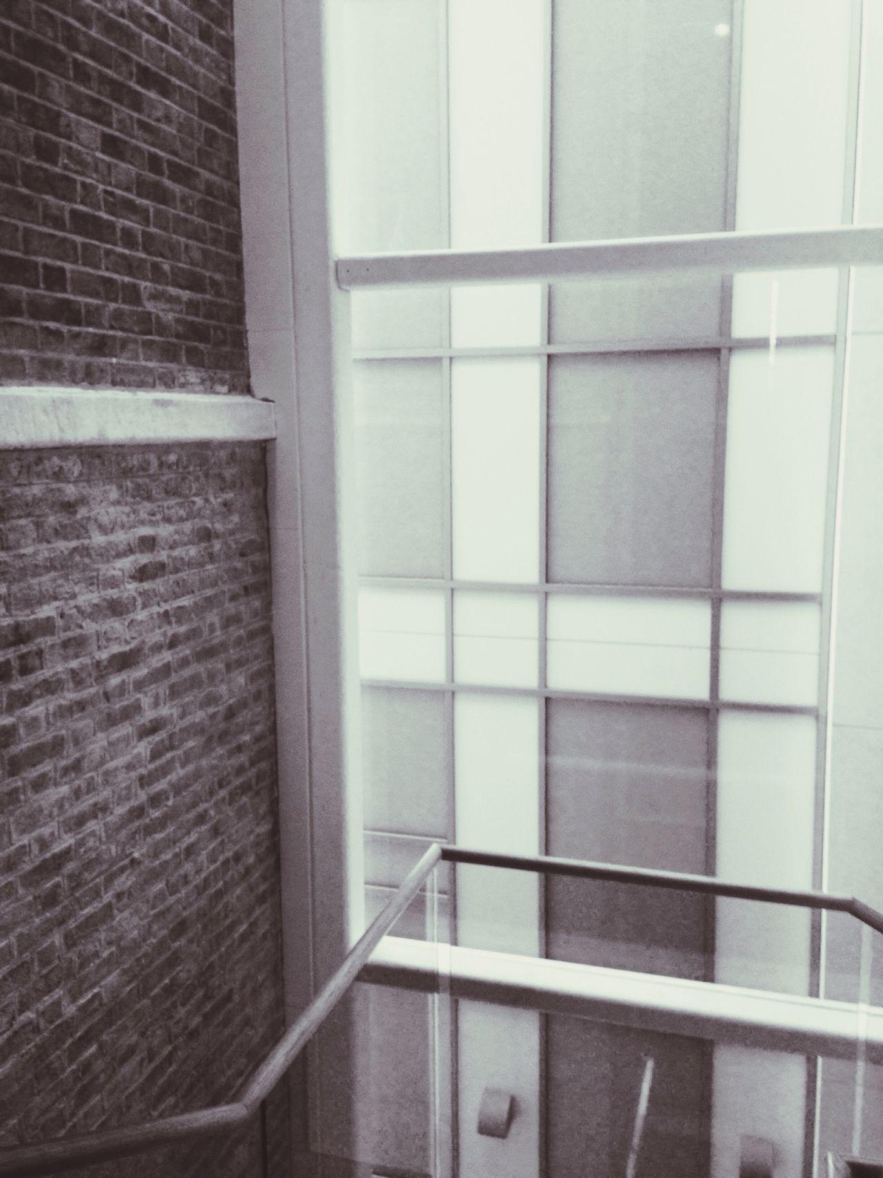 Lonely stairways Saatchi Gallery London South Kensington