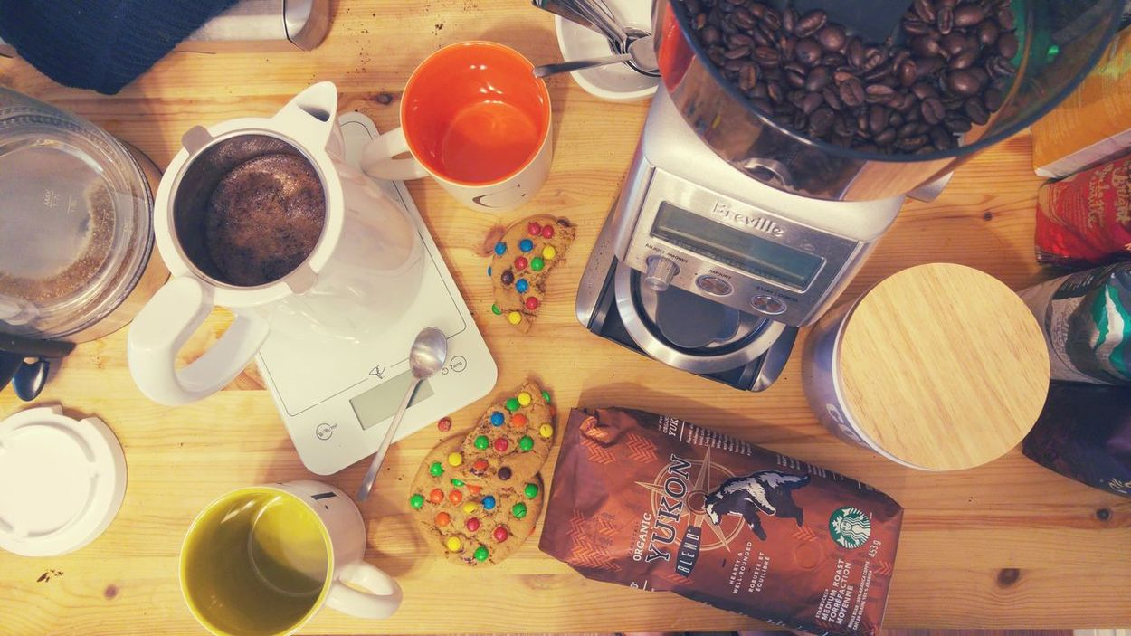 Coffee Food And Drink Table Indoors  Coffee Station Coffee Time Coffee At Home Drink Softbrew Brewing Kitchen Food