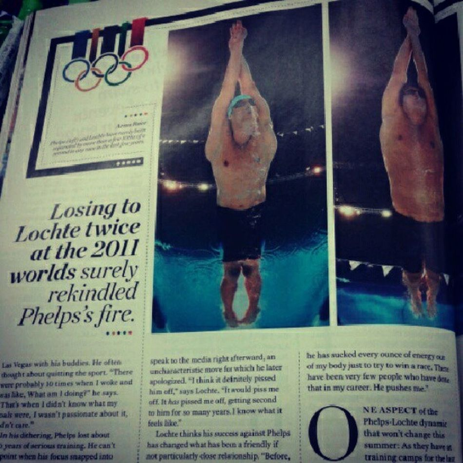 Ahhh I can't wait for the olympics Lochte >>> Phelps