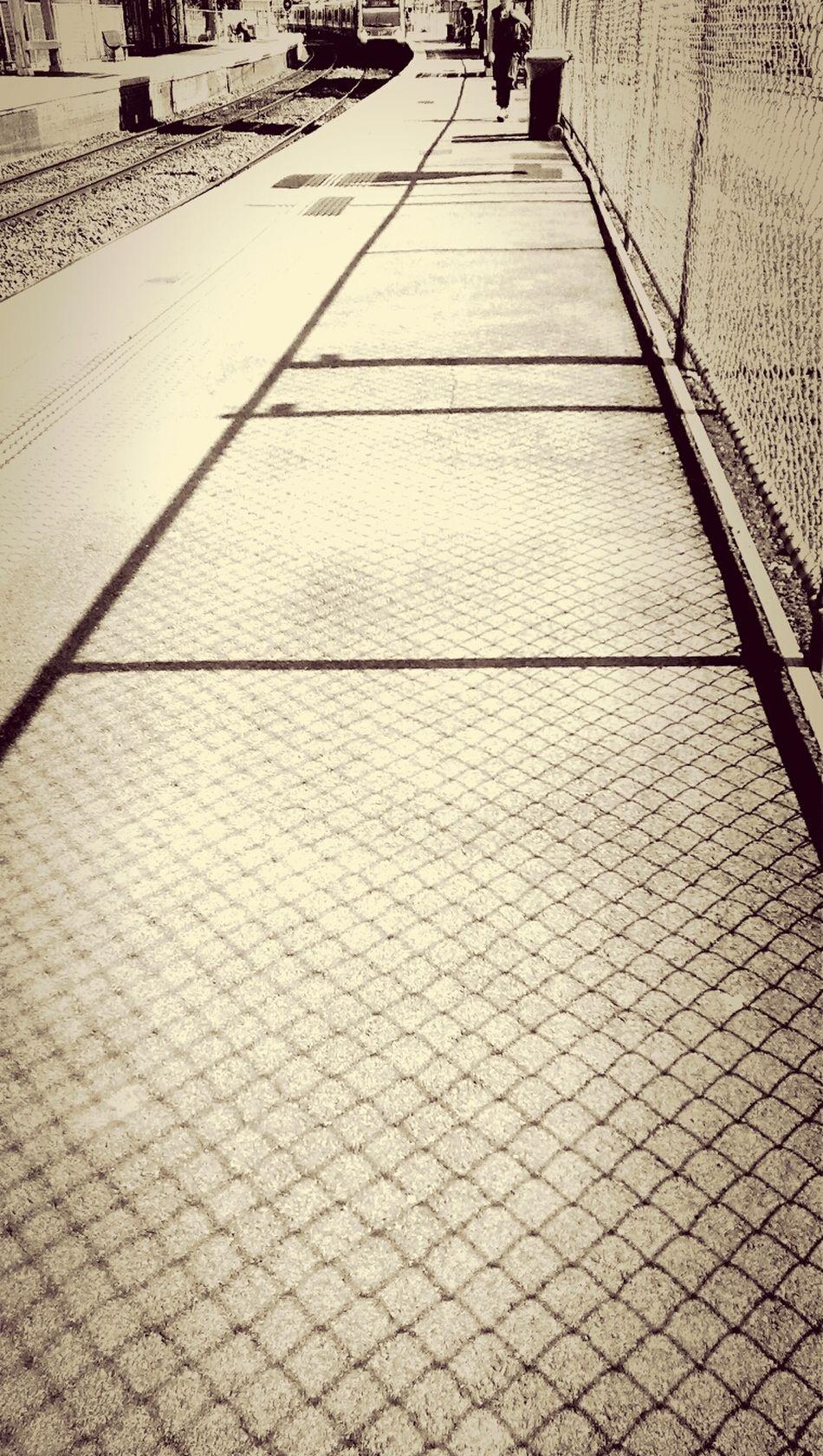 fencing Walking Around HTC One Edit Public Transportation
