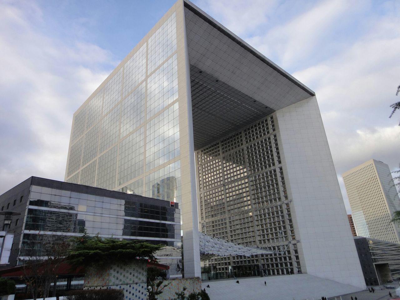La Défense Architecture Defense La Grande Arche