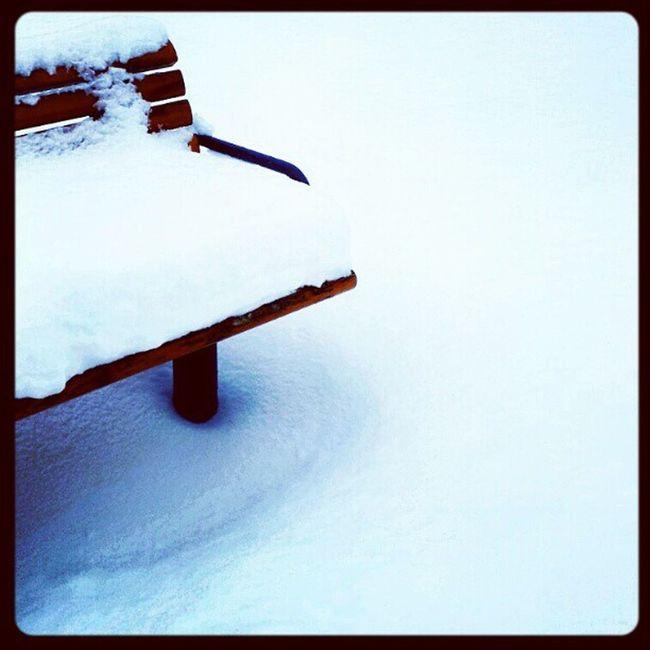 Snö var det ja... Västerås Vasaparken