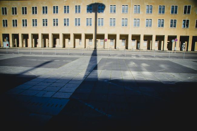 Cityscapes My Eyes My Berlin Shadow Silhouette Urban Structures Streets Of Berlin The Architect - 2015 EyeEm Awards Tempelhof Historical Building Urban Geometry