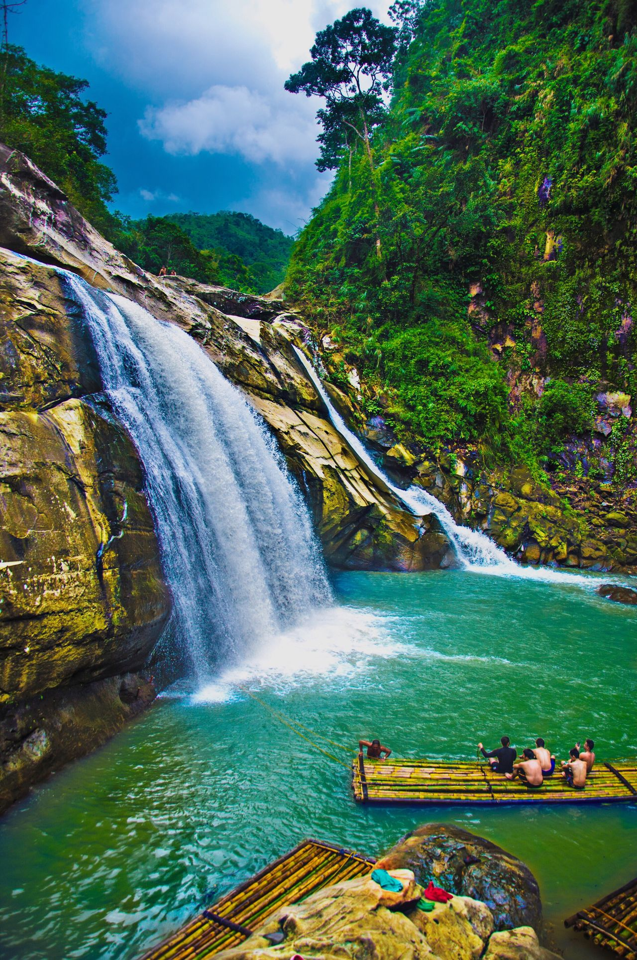 TANGADAN FALLS, LA UNION, PHILIPPINES Water Waterfall Scenics Nature Beauty In Nature Tree Long Exposure Launion Burn Beauty Vacations Stream - Flowing Water Hot Spring Motion Flowing Water Flowing Idyllic Outdoors Tourism Sky No People Rock - Object Vacations River Day