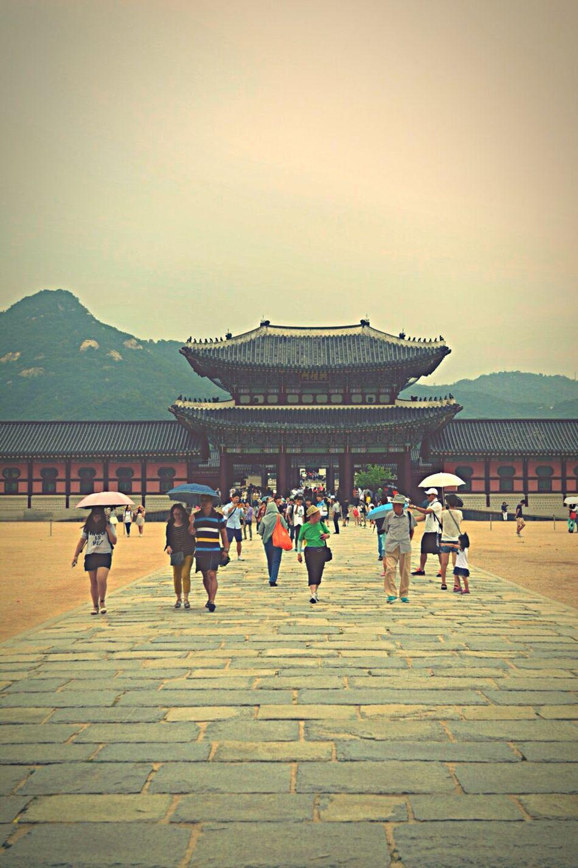 Holiday Traveling Seoul,Korea Gyeongbukgong 2014