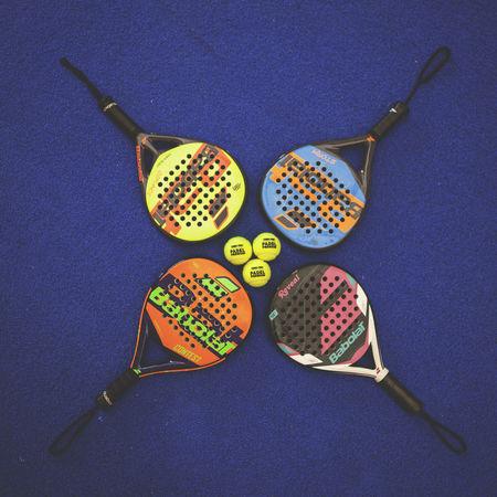 3 4 Padel Balls Indoors  Paddle Racket Sport Rackets
