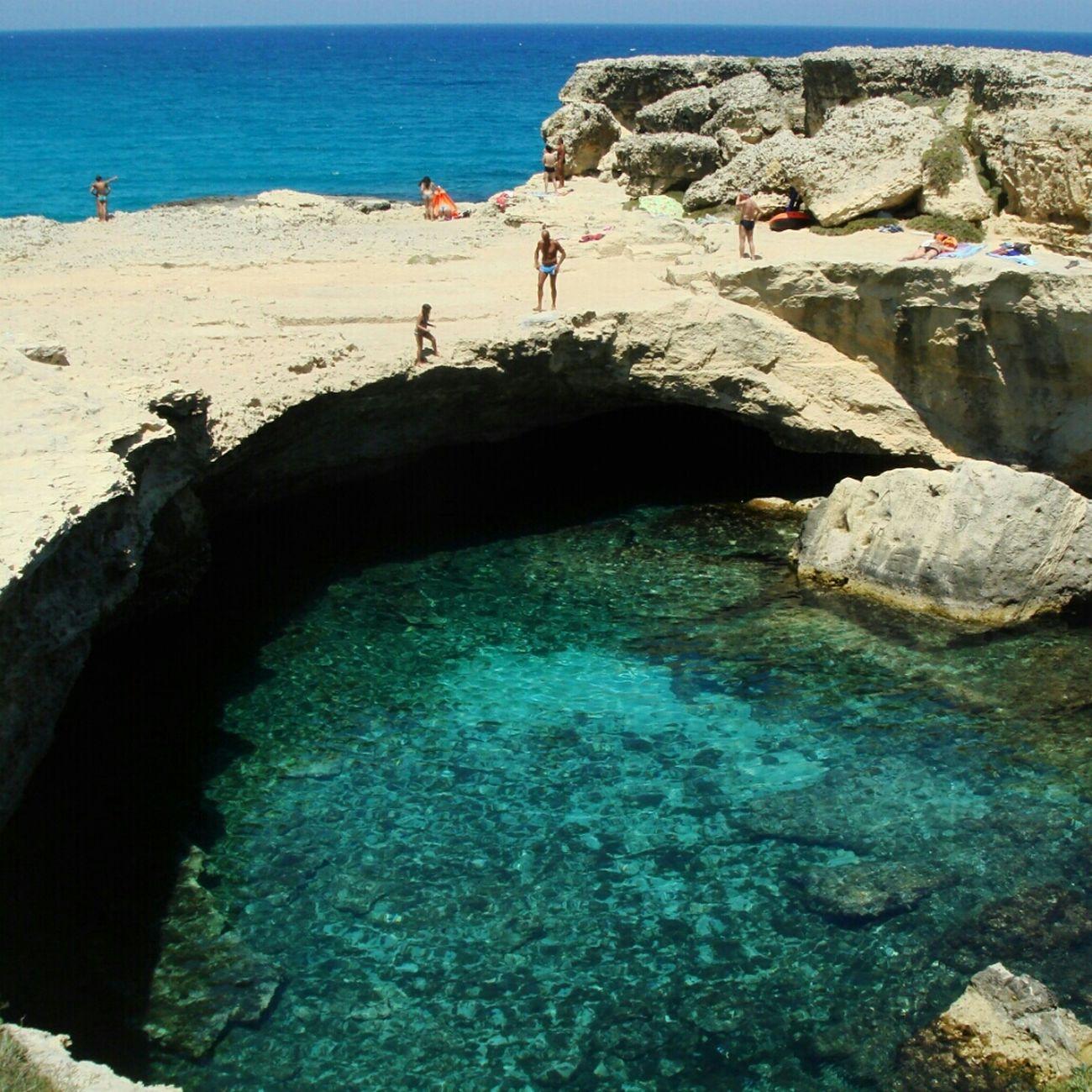 Grotta della poesia Italia Puglia Salento Grotta Grottadellapoesia