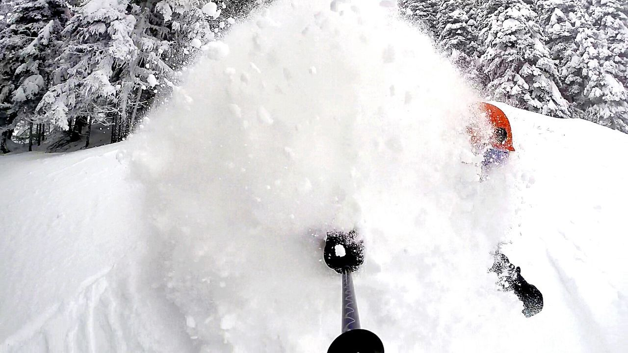 Selfie powder turn. It's Cold Outside Adrenaline Junkie My Winter Favorites Youngwildandfree Young Adult Adrenaline Snow Washington Cold Days Powderdays Go Skiing Cold Cold Temperature Coldweather The Action Photographer - 2015 EyeEm Awards Going The Distance Capture The Moment Skiing Share Your Adventure Gopro Powder The Adventure Handbook Pacific Northwest  Snow Sports