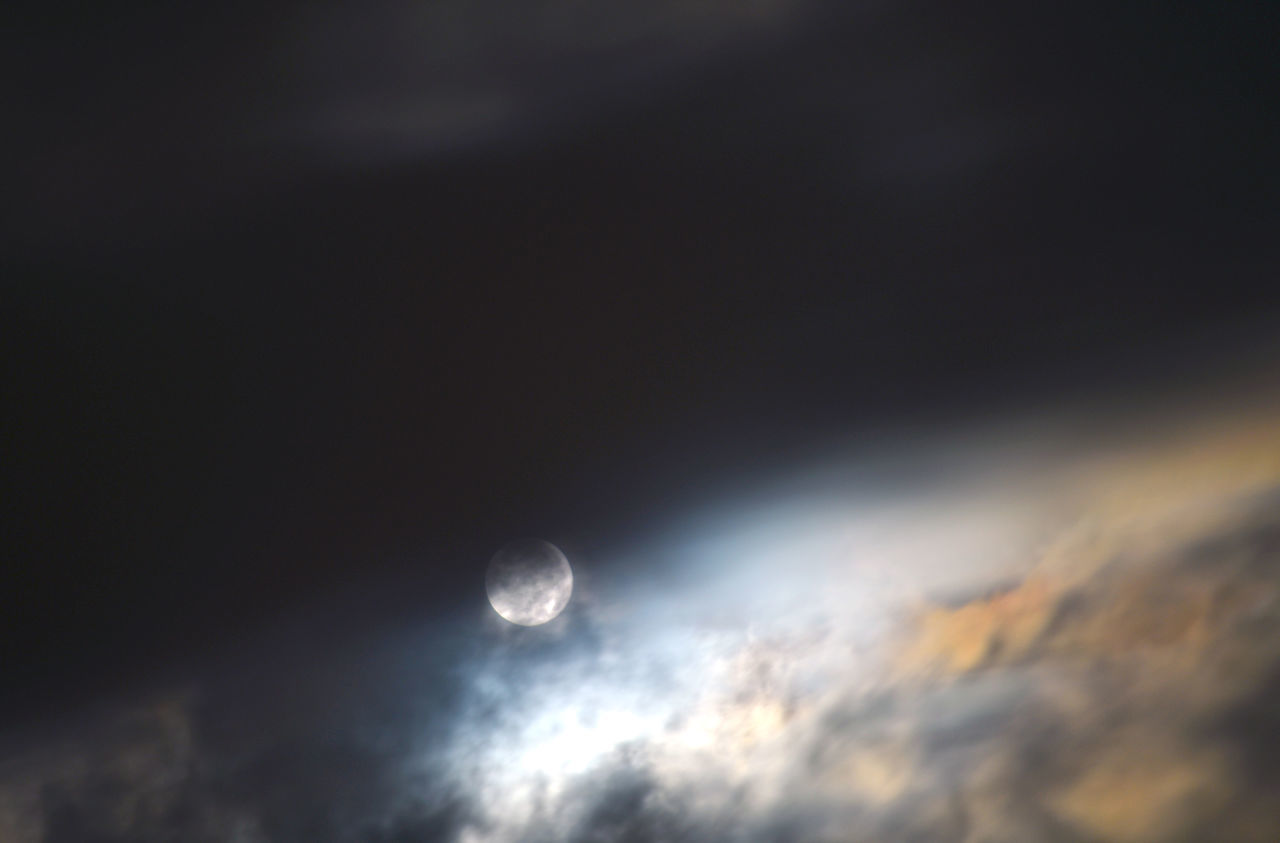 moon, nature, beauty in nature, sky, scenics, cloud - sky, astronomy, tranquility, tranquil scene, no people, outdoors, space exploration, low angle view, night, space