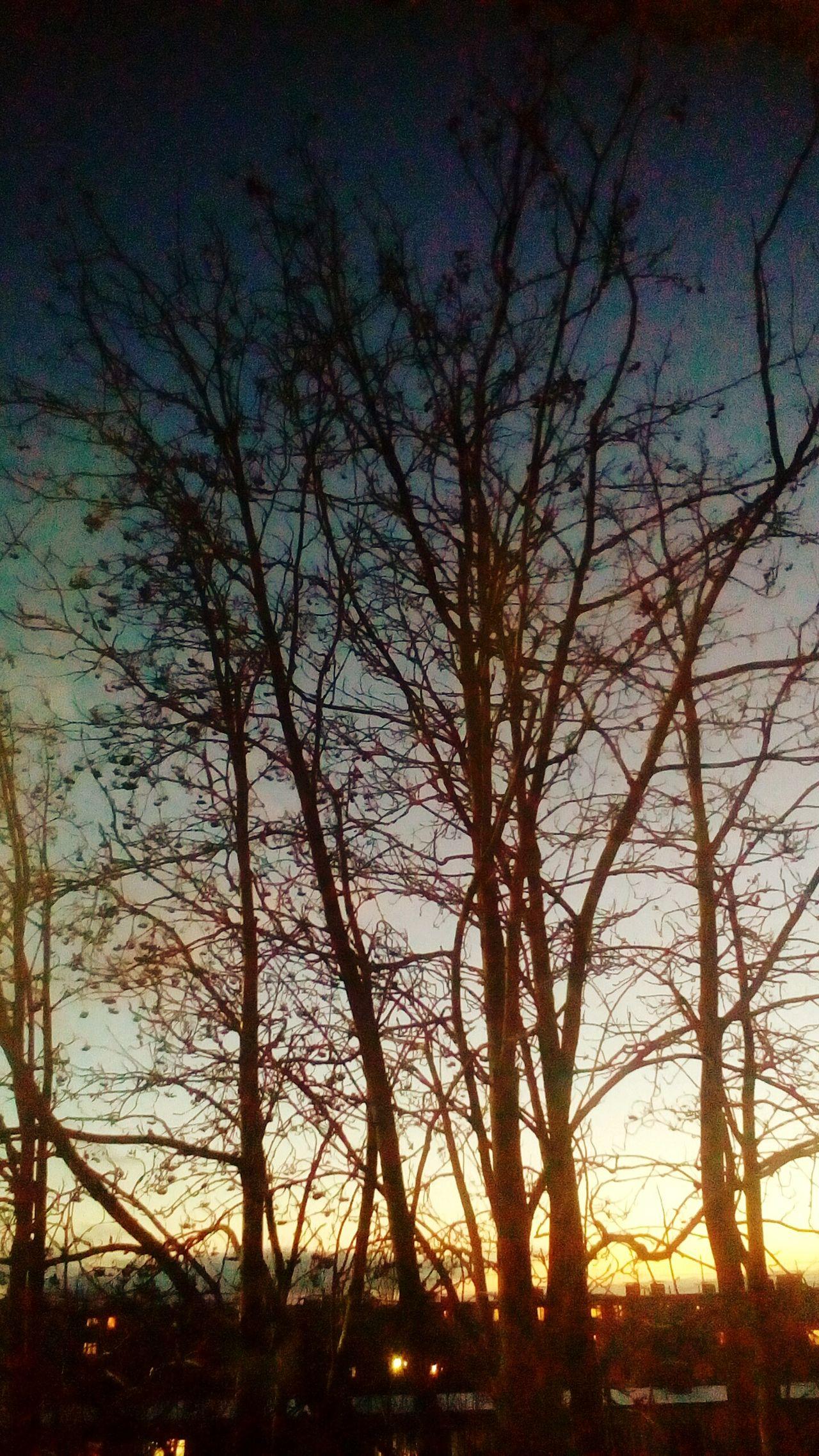закат🌇 вгостях красота -10° холод