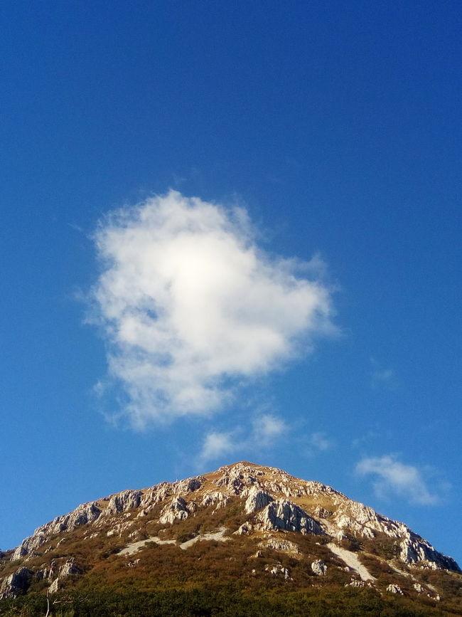 Blue Tranquil Scene Sky Beauty In Nature Nature Mountain Day Mountain Peak Outdoors Cloud Majestic Cloud - Sky Cloudscape Cloudy Colours Of Nature Cloudslovers Nature Photography Cloudsporn Heaven White Europe Nanos Slovenia Slovenija