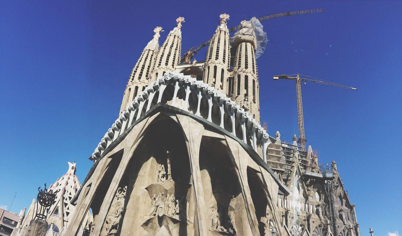 Architecture Gaudi Antoni Gaudí Sagrada Familia Barcelona SPAIN
