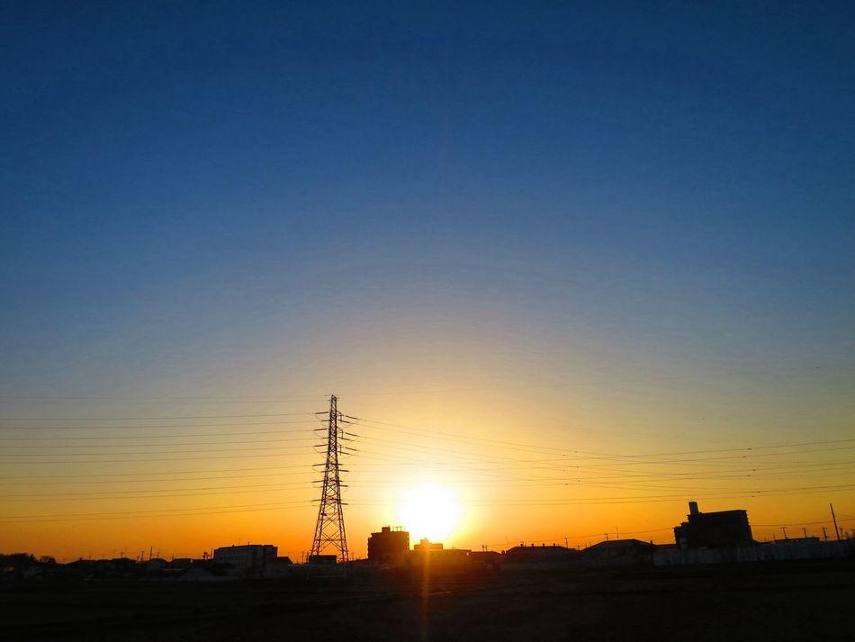 お疲れさまでした。 Twilight Sun Set Canon S120