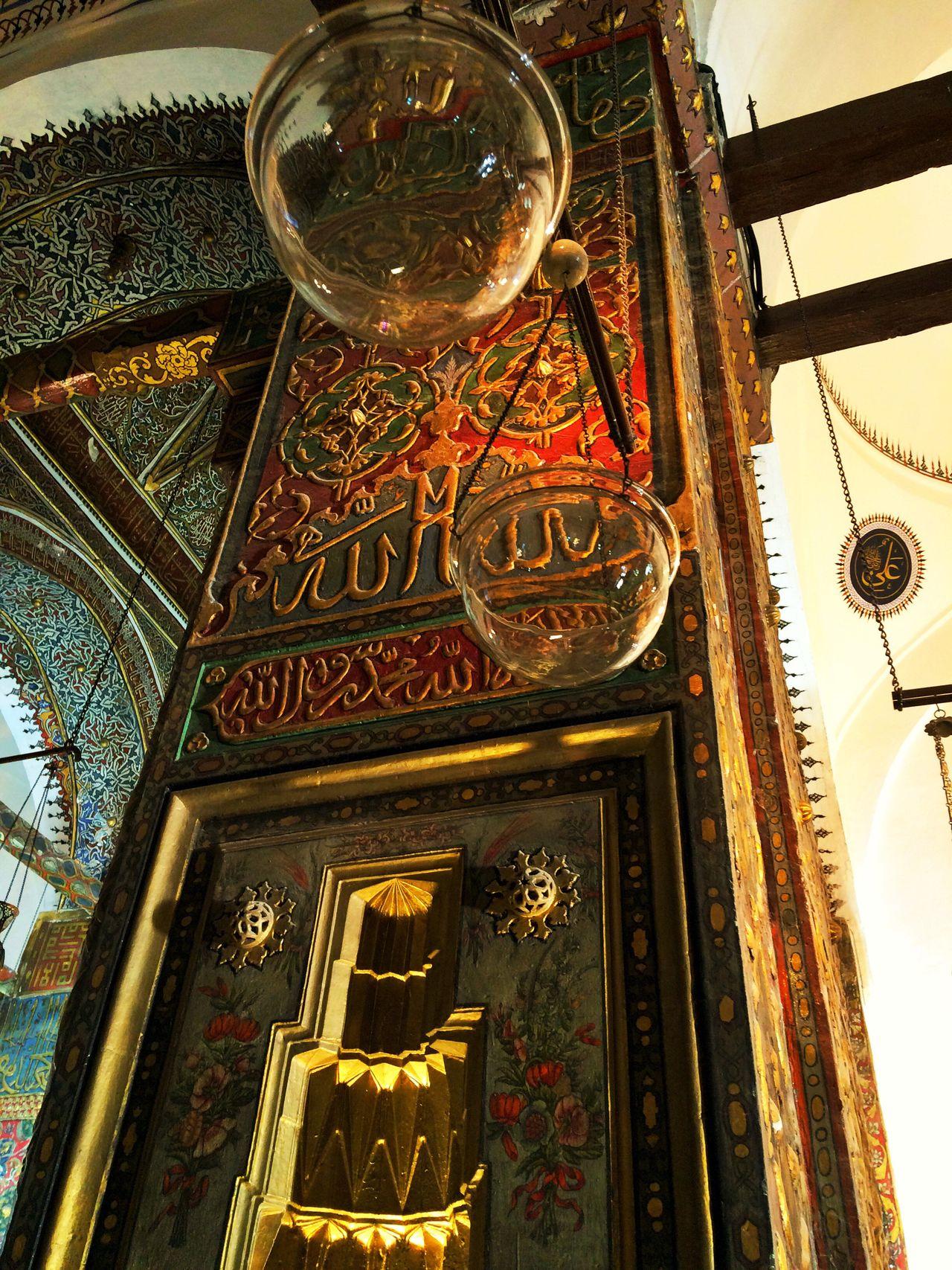 Indoors  History City Elégance Vintage Love ♥ Mevlana Türbesi Mevlana Mosque Konya Turkey Konya Turkey Retro No People Mosque