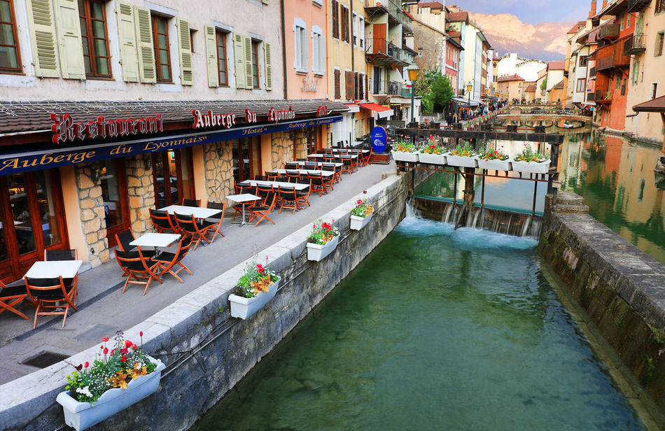 Canon Annecy Architecture Channel Day Destination France Lake Landmark Outdoors Travel Travel Destinations Travel Photography Vacations Water Waterfront