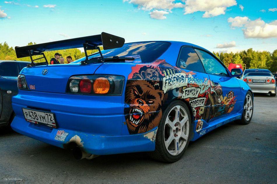Blue Sky Car Toyota Levin Trueno Jdm