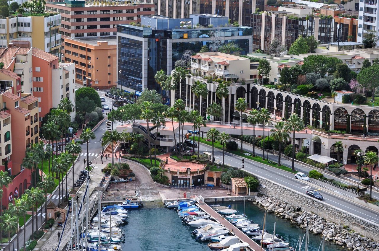 Monaco life. A Bird's Eye View Architecture Building Exterior Built Structure City High Angle View Residential Structure Transportation EyeEm Masterclass Harbor Water Getty X EyeEm Office Building Skyscraper Travel Destinations Yachts Waterfront Modern City Life Outdoors Development Day EyeEm Boats in Monaco