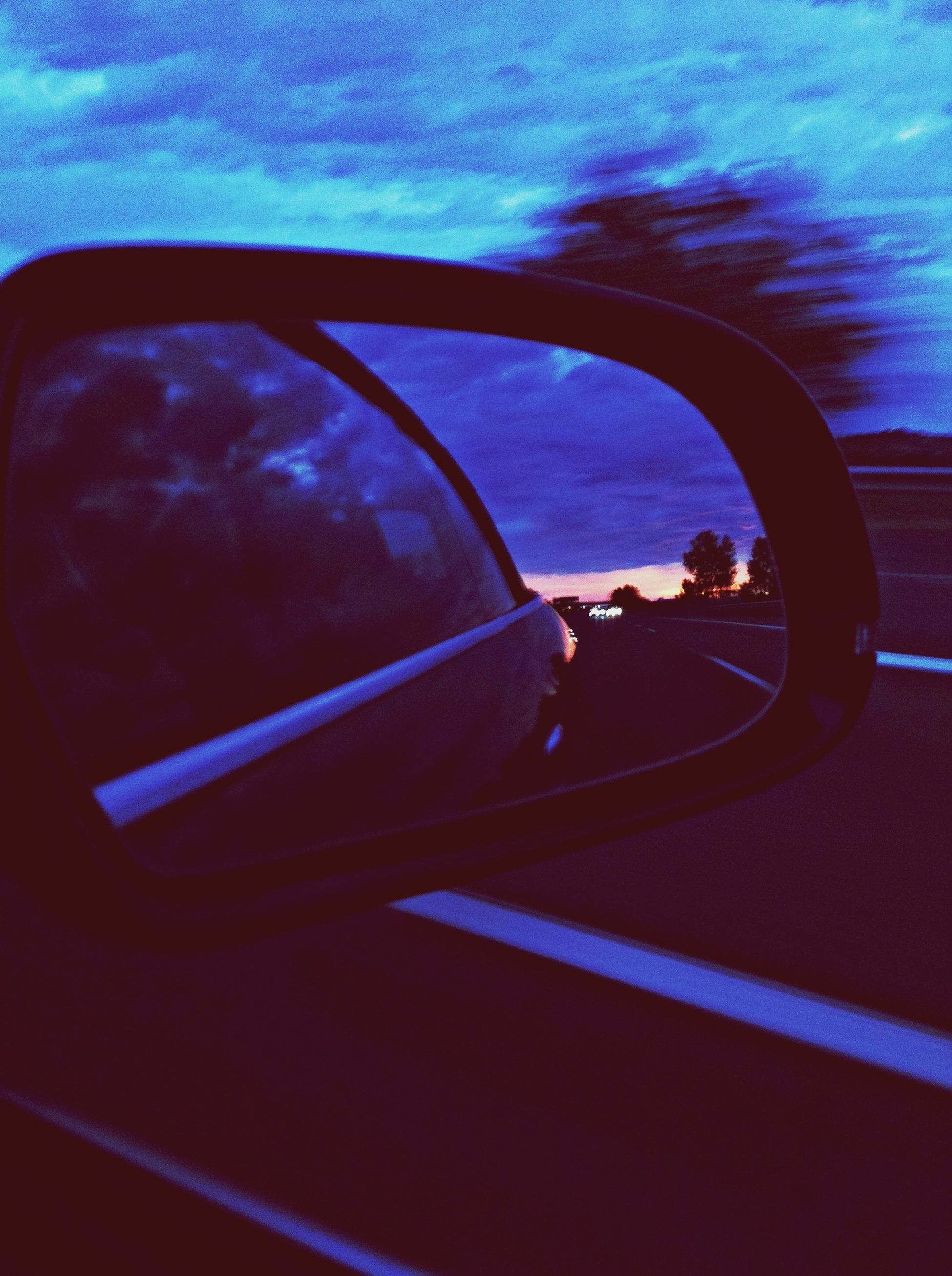 Tonight Is Sunset On The Road