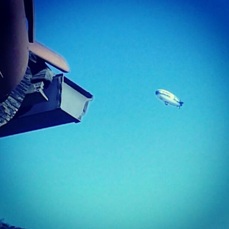 Earlier 2day. Balcony Blimp Pimpin Hollywood