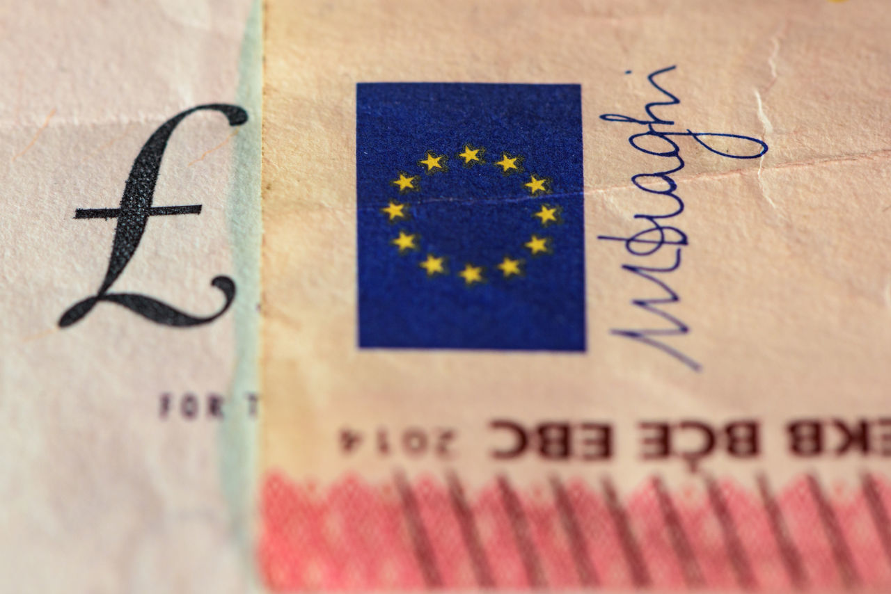 Beautiful stock photos of geld, Close-Up, Currency, European Union Flag, Finance