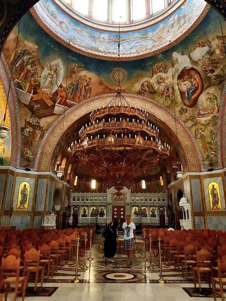 Light beyond us Religion Spirituality Architecture Altar Church Orthodox Indoors  Place Of Worship Sitting Men Day One Person People Adult Orthodox Church