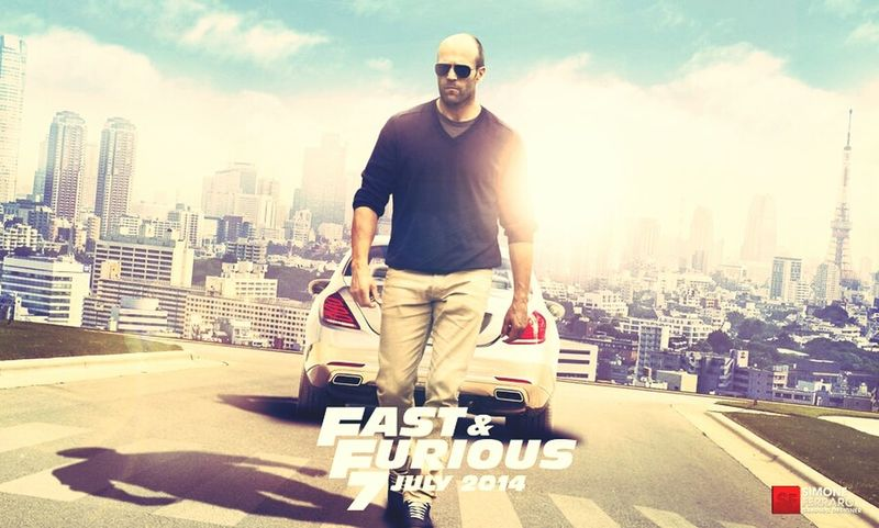 FastAndFurious7 MOVIE Actor Cars