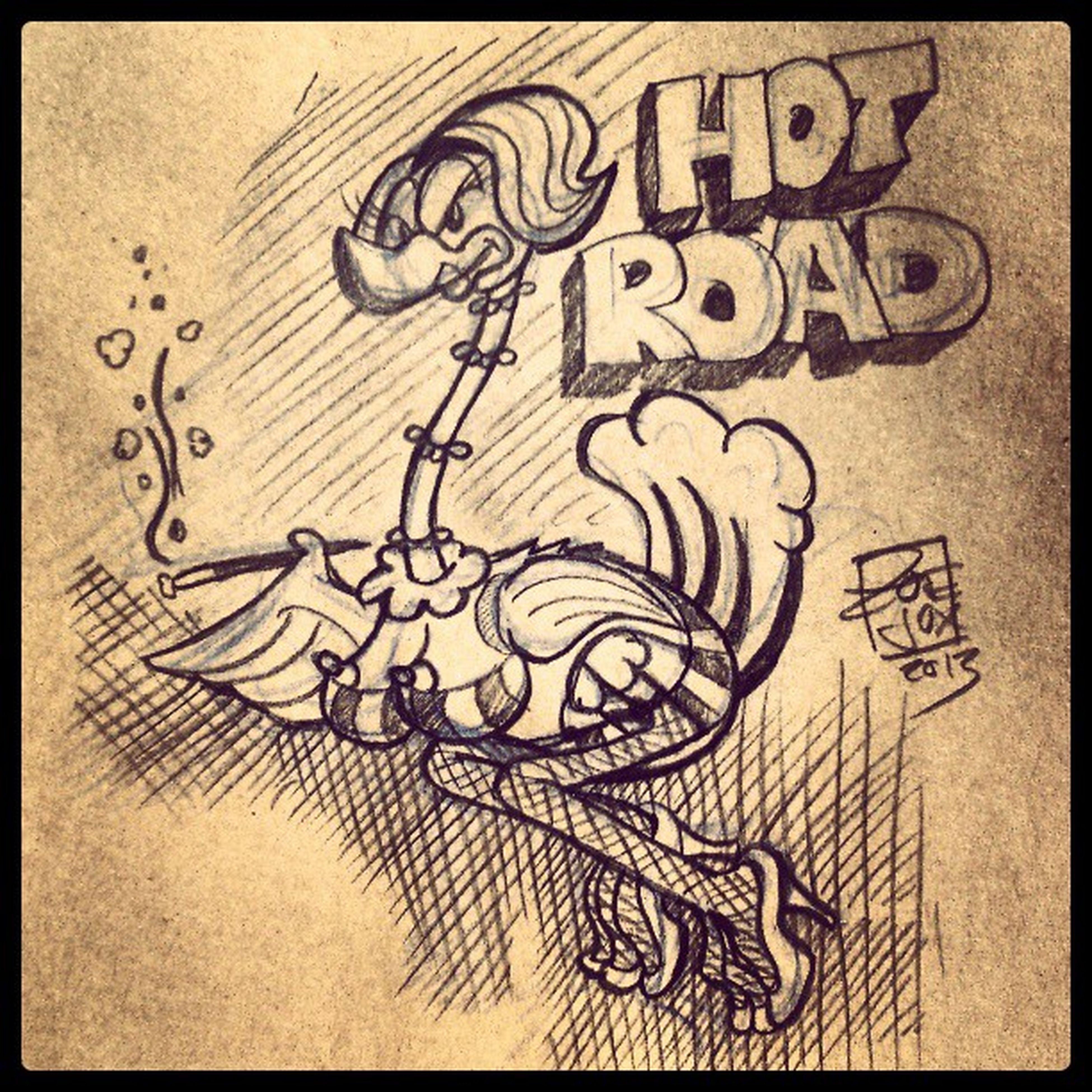 @cozima83 die Strassen werden verbrennen! :D. Roadrunner Straßenrenner Dinsey Comic cartoon tattoo tattooflash zoejux hotroad