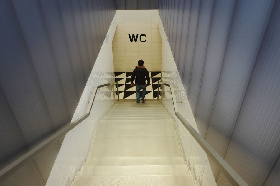Muss mal.. Wc Restroom Architecture Stairs