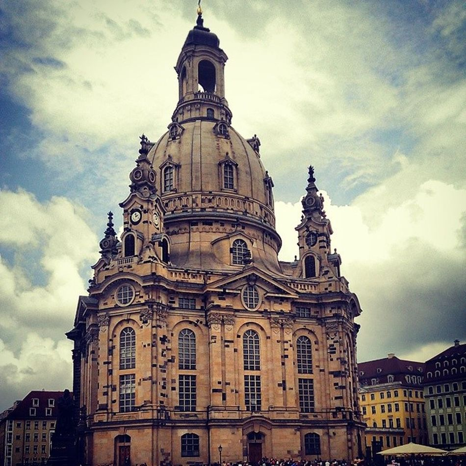 Dresden City Altstadt Architecture construction historical church beauty colors amazing fantastic art instaart instagramhub instagood instahistory sky skypainters skyporn clouds blue colors cloudporn