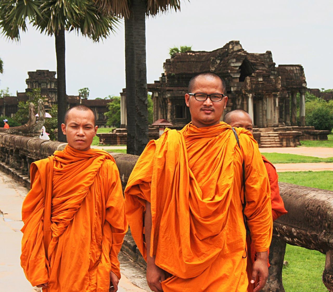 Two People Only Men Portrait Religion Adults Only Outdoors Adult Eyeglasses  People Togetherness Day Buddhism Buddhist Temple Monks EyeEmNewHere