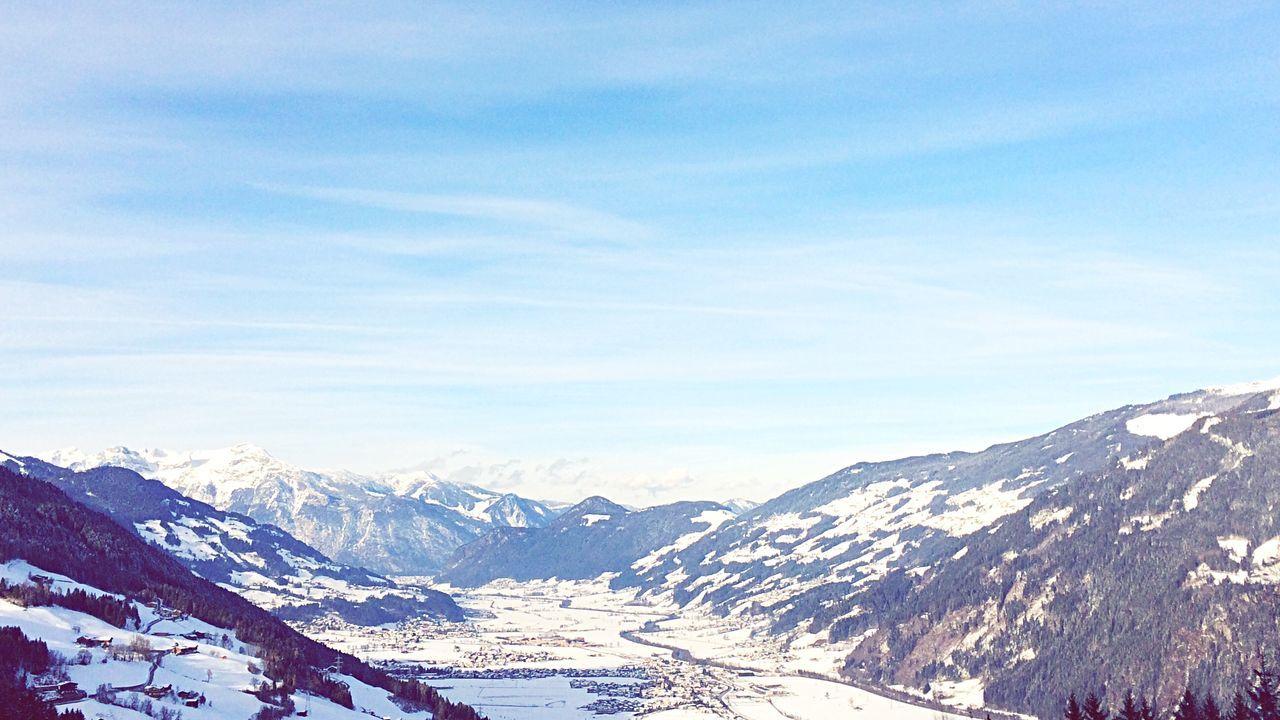 Alps Mountains Winter Open Edit Landscape Nature