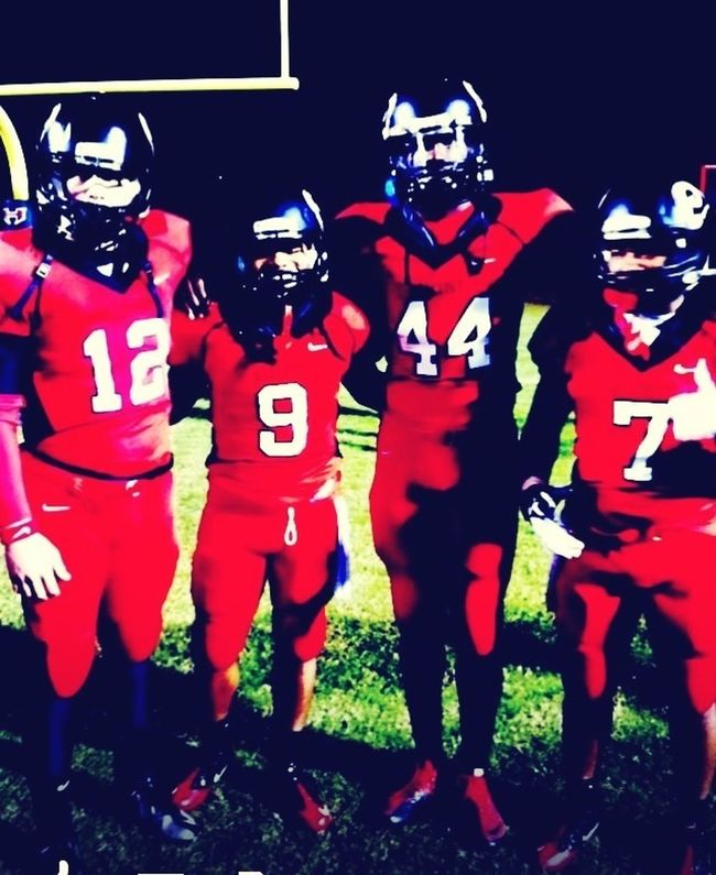 Me N My Boys At The Last Home Game